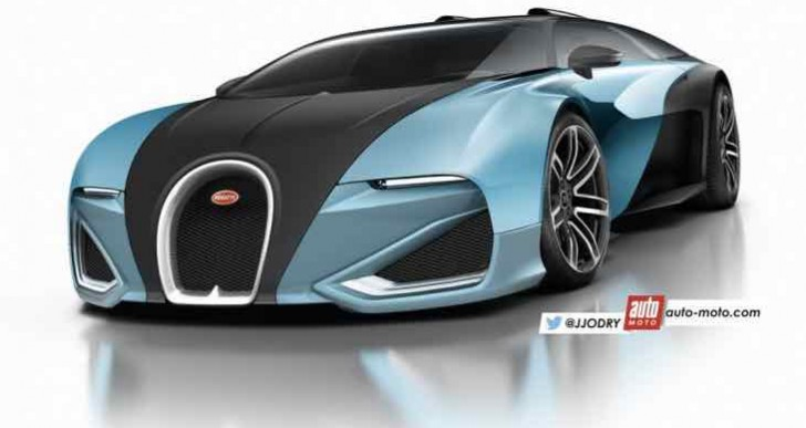 Speculative Bugatti Chiron design, evolution over revolution