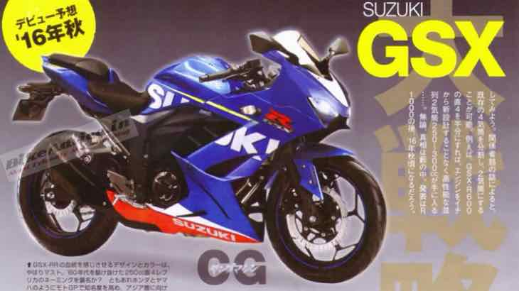 Speculative Suzuki Gixxer 250 rendering for finer details