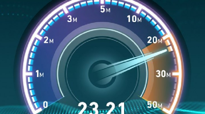 Broadband speed test app on Android vs. iPad