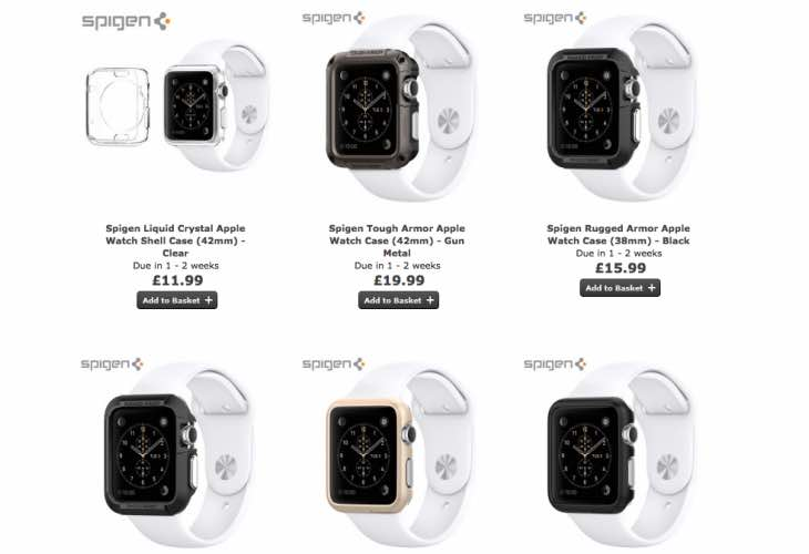 Spigen Apple Watch cases increase choice