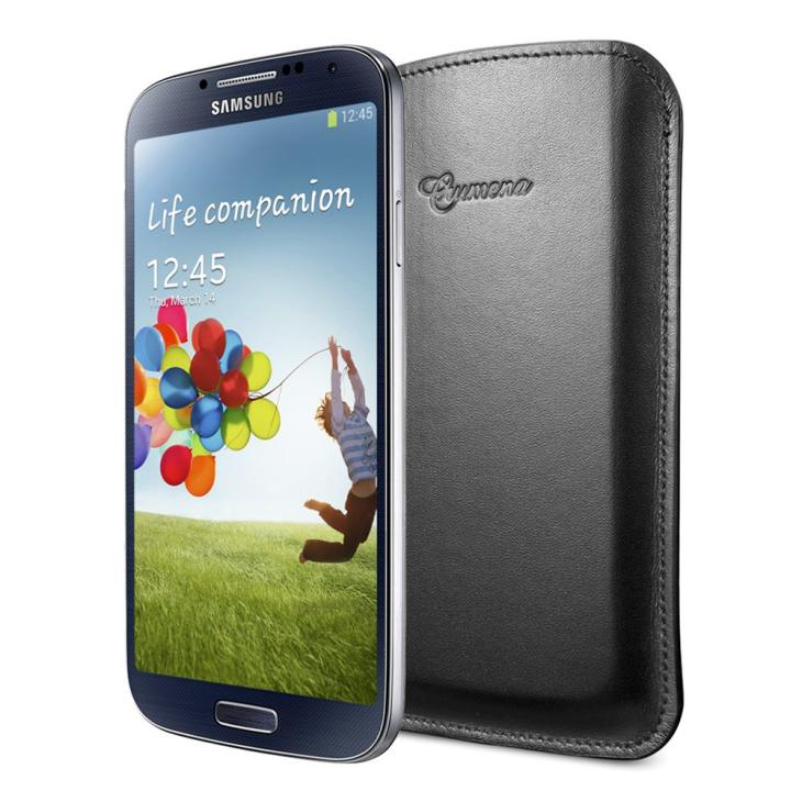Spigen Samsung Galaxy S4 leather pouch