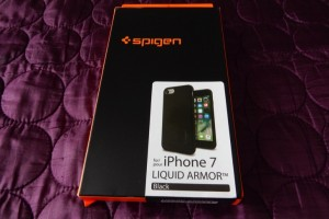 Spigen iPhone 7 Case Liquid Armor review for basic protection