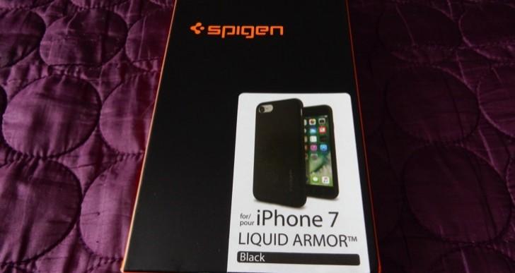 Spigen iPhone 7 Case Liquid Armor review for basic protection