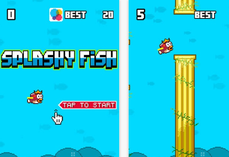 Splashy Fish feeds iOS addiction, not Android
