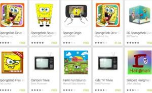 SpongeBob SquarePants games for Android