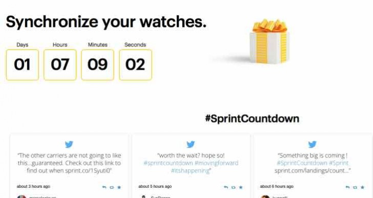 UpdateSprint Countdown, biggest offer in US wireless history