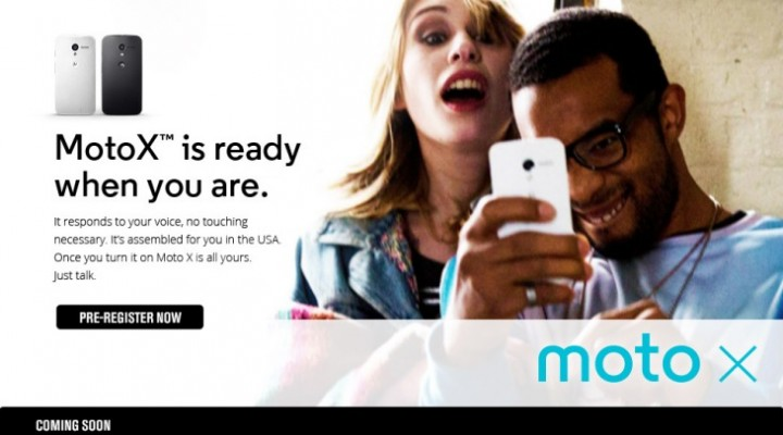 Sprint Moto X release date imminent