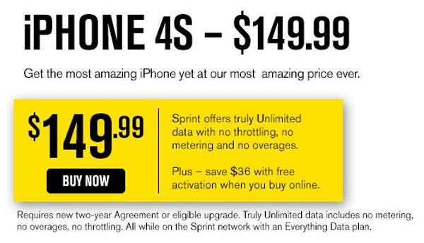 Sprint touting iPhone 5 readiness