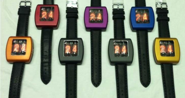 Square Nixie Watch pre-order and shipping details