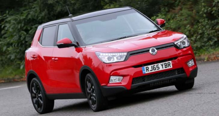 SsangYong Tivoli Motability price list by model