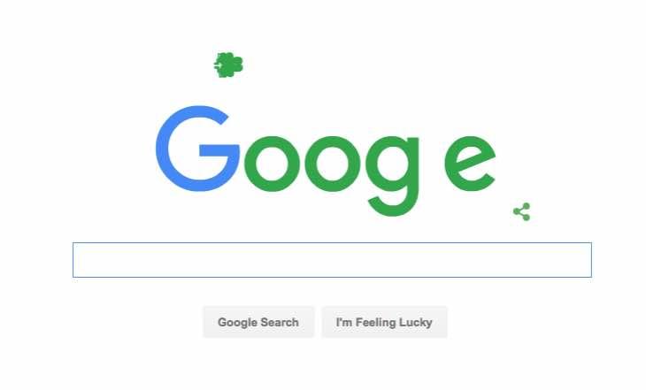 St Patrick's Day 2016 Doodle
