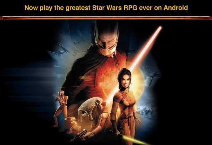 Star Wars- Knights of the Old Republic Android compatibility issues