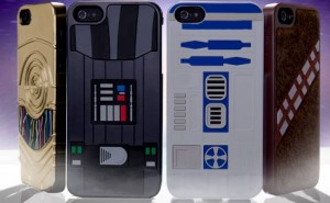 Star Wars cases for iPhone 5 include R2D2, Darth Vader