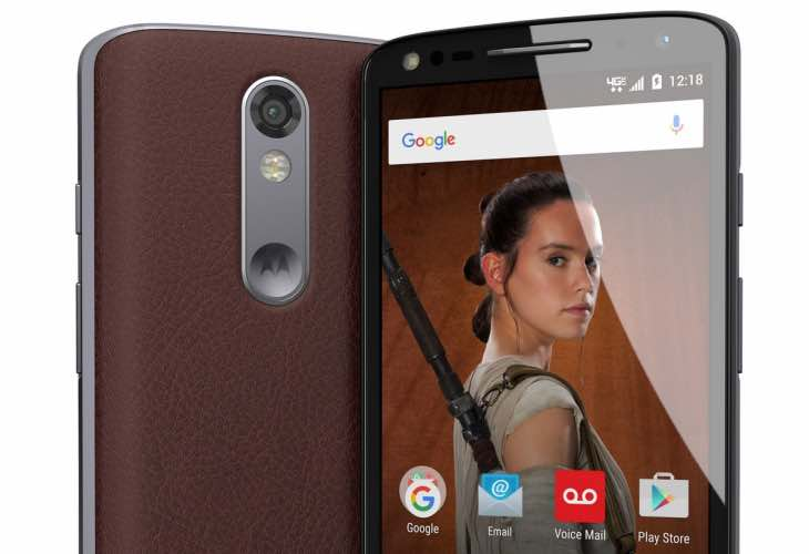 Star Wars editions of the Droid Turbo 2
