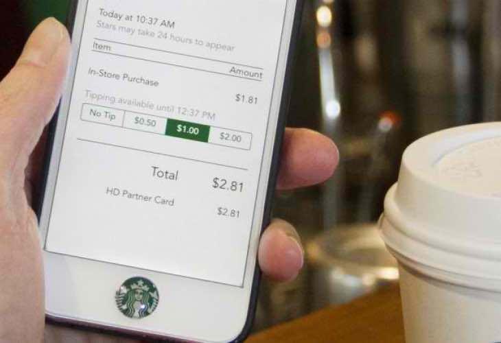 Starbucks mobile ordering in UK unlikely for 2015
