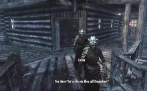 Start Skyrim Dragonborn DLC in Windhelm