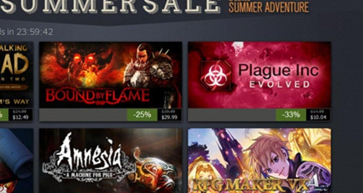 Start time for Steam Summer Sale 2015 confirmed