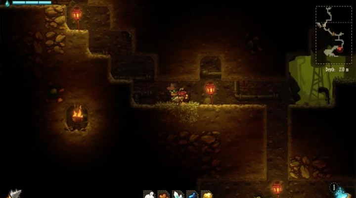 SteamWorld Dig PS4 review for Nov PS Plus game