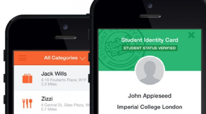Student Beans ID discount app for Student Money Week