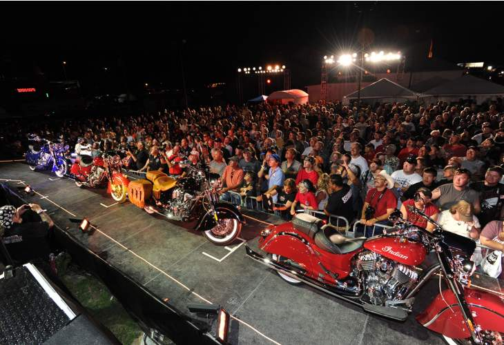 Sturgis 2014 schedule of events include Jesse James