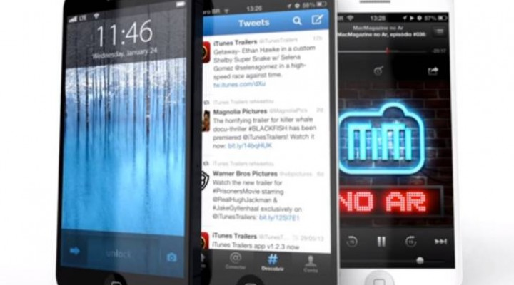 Stylish iPhone 5S concept with all-new iOS 7 envisioned