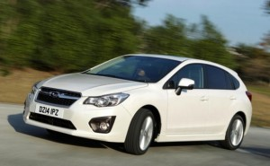 Subaru Impreza sport 2014 relaunch for UK