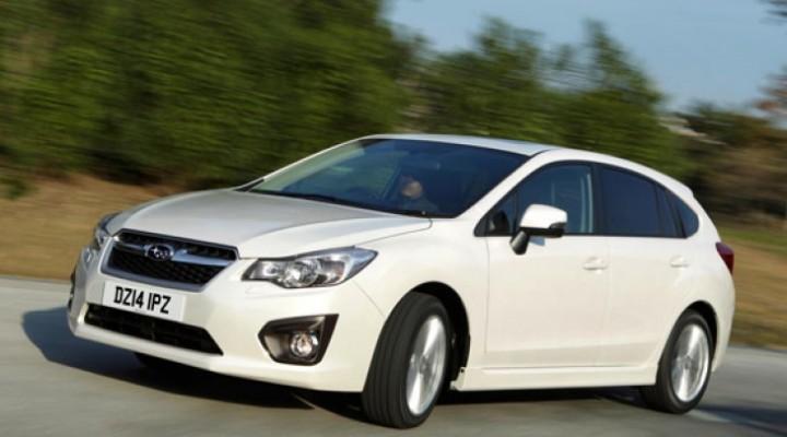 Subaru Impreza sport 2014 relaunch for UK