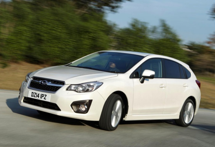 Subaru Impreza sport relaunch for UK