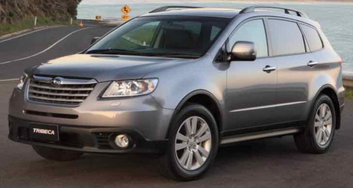 Latest Subaru Tribeca replacement details, name MIA