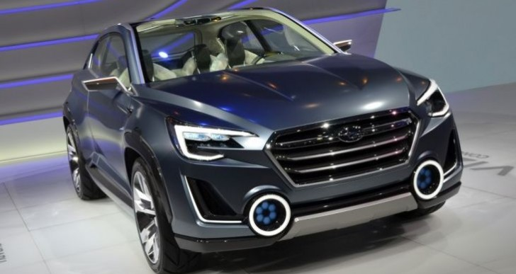 Subaru Viziv 2 concept at GMS 2014 a vision for innovation