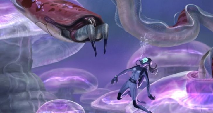 Subnautica game in development from Unknown Worlds