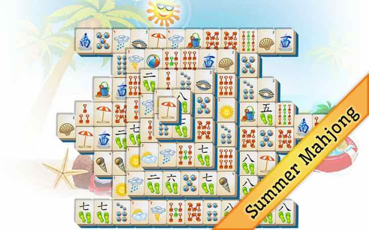 Summer Mahjong app is free