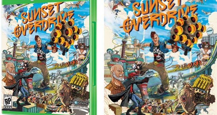 Sunset Overdrive Xbox One box art