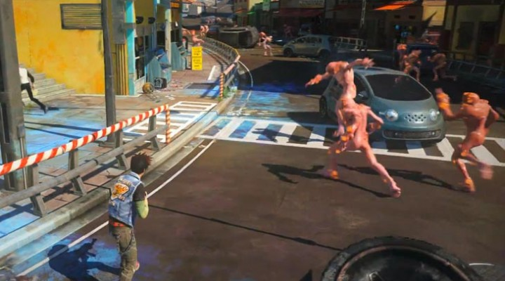 Sunset Overdrive midnight release at MS Store