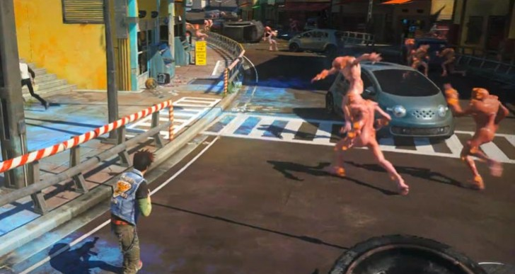 Sunset Overdrive story gameplay with weapons