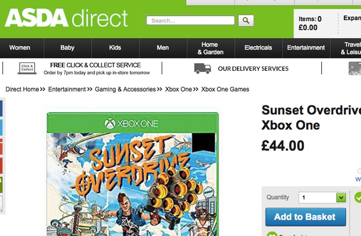 Sunset-Overdrive-price-at-ASDA