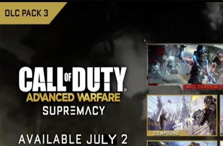 Advanced Warfare PS4 update today for DLC 3