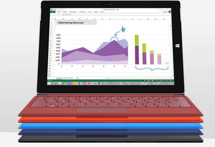 Surface 3 Cover and Docking Station accessories