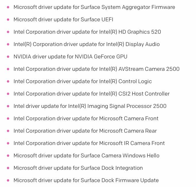 Surface Book April updates failing