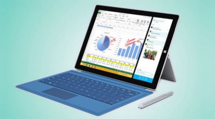Surface Pro 3 battery life hours on paper