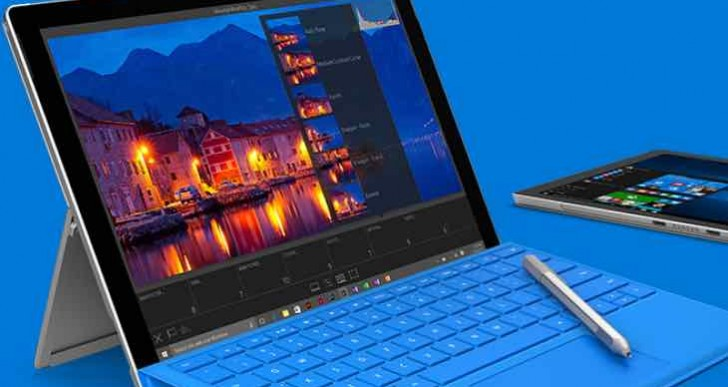Limited Surface Pro 4 availability today