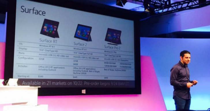 Surface and Pro 2 availability, low Christmas stock concerns