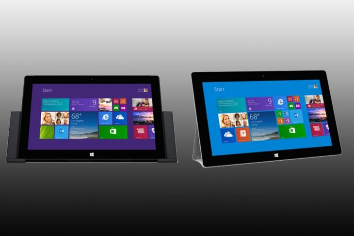 Surface and Pro 2 availability