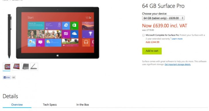 Surface Pro 2 launch avoided by price conscious