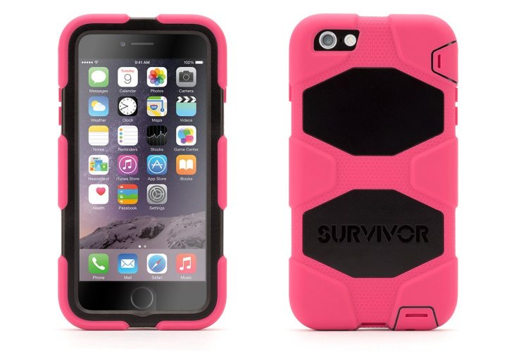 Survivor All-Terrain for iPhone 6 Plus in Pink
