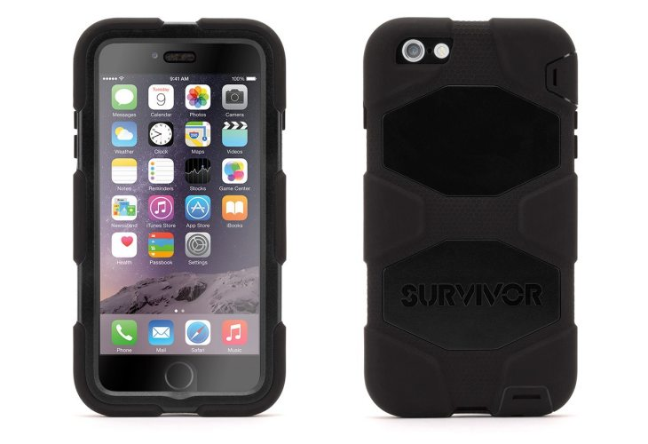 Survivor All-Terrain iPhone 6 Plus case isn't waterproof
