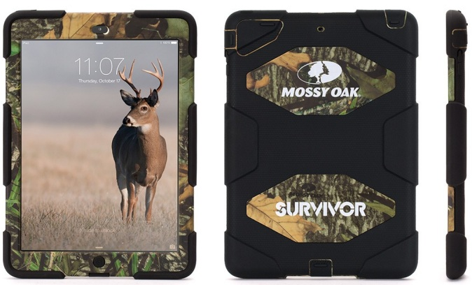 Survivor Mossy Oak case for iPad Air
