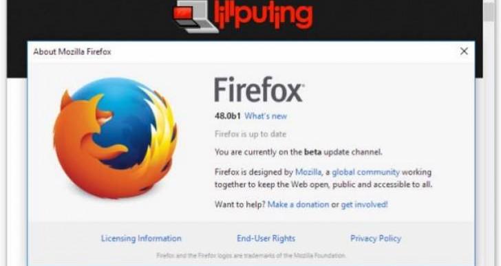 Planned Firefox 48 public release date update