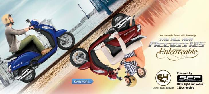 Suzuki Access 125 new model