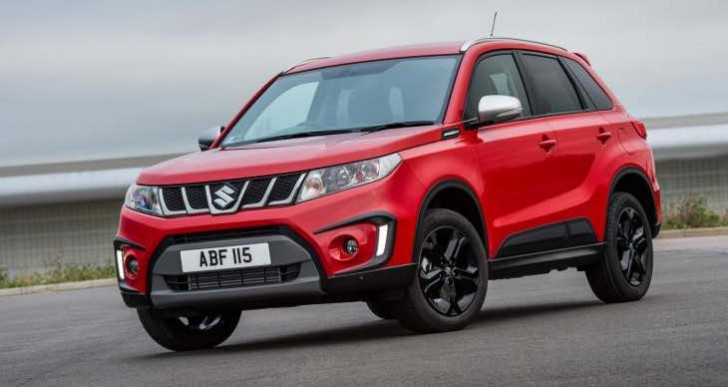 Suzuki Vitara S UK model on sale from January 2016